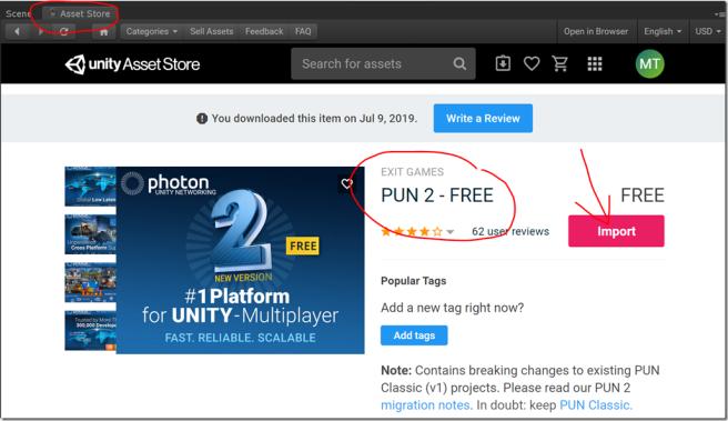 Unity Photon 2